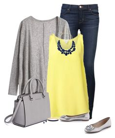 Polyvore. fashion, style, J Brand, Tory Burch, MICHAEL Michael Kors and Kate Spade. Fall Fashion. Fashion for women over 40.