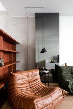 Living room by Interior Architect Frederic Kielemoes - Ligne Roset Togo Sofa
