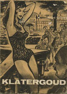 Klatergoud - La vie perdue - Paperback cover, 1963