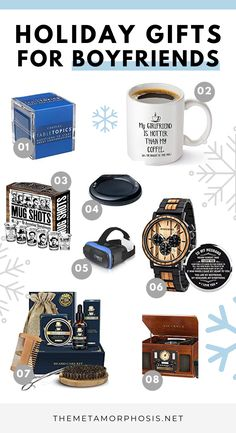 Struggling to come up with some gift ideas for your boyfriend? Here's 36 awesome gifts for boyfriend that he'll absolutely LOVE! Especially #31! #giftsforboyfriend #giftideas #christmas Presents For Boyfriend, Boyfriend Gifts, Christmas Gifts For Mom, Holiday Gifts, Stocking Stuffers For Girls, College Graduation Gifts, Best Friend Birthday, Cheap Gifts, Sentimental Gifts