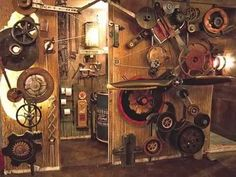 Visions of Steampunk & Steampunk Rooms (1:42)