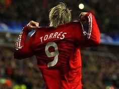 """Fernando """"El Niño"""" Torres - Liverpool (en sus años mozos)"""
