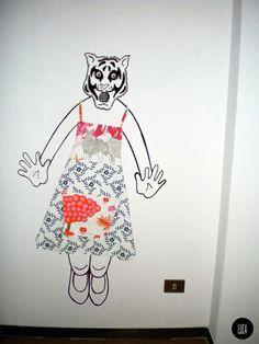 #winter #winteredition #winter2013 #lucabelotti #print #printed #pattern #texture #apron #grembiule #grembiuli #handmade #fattoamano #fashion #shooting #photoshooting#roar #tiger #eyeofthetiger