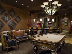 Billiards Room with Bar