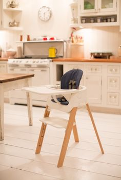 New highchair part of a 5 step system from #Stokke