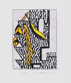 """Roy Lichtenstein, """"Ten Dollar Bill (Ten Dollars)"""", 1956 on ..."""