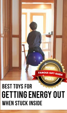 Best toys for burning off steam inside - these are a life-saver on rainy days! (includes suggested age ranges and lots of info. on each pick. Best Kids Toys, Toys For Boys, Children Toys, Yoga Games, Preschool Age, Top Toys, Fidget Toys, Healthy Kids, Alter