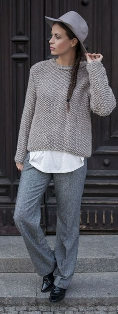 Shades Of Grey Winter Outfit