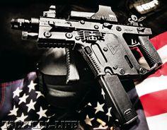 Kriss Super V submachine gun 45 acp with less recoil than a 9mm