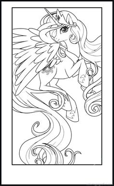 Free, My Little Pony Coloring Pages Printable for Kids printable coloring book pages, connect the dot pages and color by numbers pages for kids. Cute Coloring Pages, Colouring Pics, Disney Coloring Pages, Free Printable Coloring Pages, Adult Coloring Pages, Coloring Books, Kids Colouring, My Little Pony Coloring, Coloring Pages For Kids