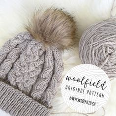 Trendy Sewing Patterns For Women New Looks Products 30 Ideas Motifs Beanie, Knit Beanie Pattern, Bonnet Crochet, Knit Crochet, Crochet Hats, Knitting Patterns, Sewing Patterns, Crochet Patterns, Knitting Projects