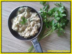 Kolizje smaków: Czosnkowe risotto z pietruszką według Gordona Ramsey'a