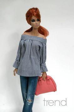 Clothes for dolls Fashion Art, Diva Fashion, Fashion Dolls, Barbie Sewing Patterns, Clothing Patterns, Barbie Et Ken, Barbie Fashion Royalty, Black Barbie, Barbie Friends