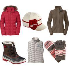 """""""Warm Winter Wear"""" by fontanasports on Polyvore www.fontanasports.com"""