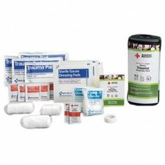 Ultimate First Responder Trauma Pack by Saratoga Farms. $15.00. This 22-piece pack is for use at the scene of a serious injury, providing twice the supplies for use at the scene of a serious injury, such as a pressure fracture or deep laceration.