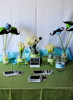 Oh Snap! Green and Blue Camera Photography Themed Baby Shower | Baby Lifestyles