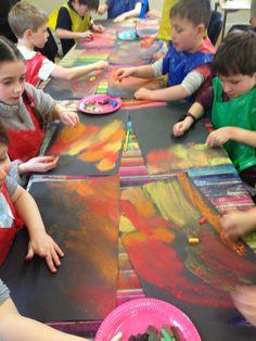 The basic shape collage - artofit process art preschool, preschool art, art a Process Art Preschool, Preschool Art, Toddler Activities, Activities For Kids, Art Games For Kids, Shape Collage, Art Party, Art Plastique, Teaching Art