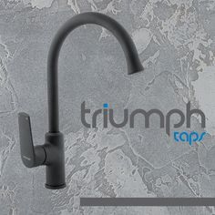 "Sink Mixer Deck Type ""P"" - Magnetite - Triumph Taps - Bathroomware Mixer, Sink, Sink Tops, Vessel Sink, Vanity Basin, Sinks, Wash Stand, Stand Mixer, Utility Sink"