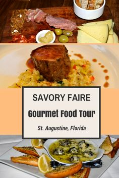 My favorite tour in St. Augustine is the Savory Faire food tour which took us to 6 local restaurants for food and drink samples. We had a blast and plenty of delicious eats.