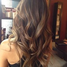 Balayage Highlights Long Brunette Hair Inspiration | Beauty High