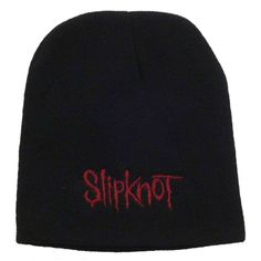 Slipknot Embroidered Red Logo Beanie Hat Red Logo, Slipknot, Beanie Hats, Logos, Fashion, Moda, Fashion Styles, A Logo, Fashion Illustrations
