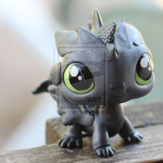 Toothless LPS custom by pia-chu on DeviantArt