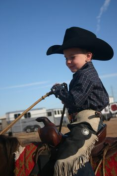 I LoVE My Cowboy Colin loves wearing his chaps & cowboy hat!!!