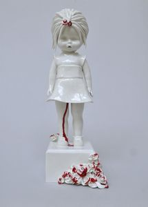 Art Blog Maria Rubinke Empty Kingdom Beautiful And Unusual - Amazingly disturbing porcelain figurines by maria rubinke