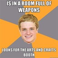 idk if i already pinned this or not but idc. OHHH PEETA....SO ARTSY AND CRAFTSY?