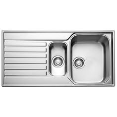 Franke Details Franke Ascona ASX 651 stainless steel inset bowl with reversible drainer kitchen sink.The Franke Ascona ASX range facilitates for many kitchen designs and their production quality and full guarantee will allow Franke Kitchen Sinks, Franke Sink, Kitchen Taps, Kitchen Reno, Kitchen Appliances, Sink Taps, Bathroom Faucets, Shower Taps