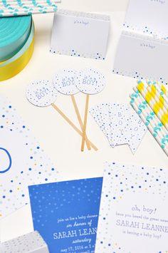 Polka Dot Baby Shower || Smitten on Paper