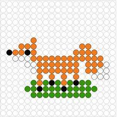 gruffalo kralenplank - Google zoeken Perler Beads, Projects For Kids, Crafts For Kids, The Gruffalo, Preschool Literacy, Arts And Crafts Supplies, Stories For Kids, Cross Stitch Designs, Beading Patterns