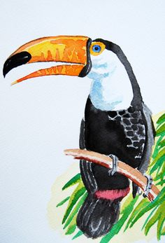 Toucan Art Print by One Pepinillo | Society6