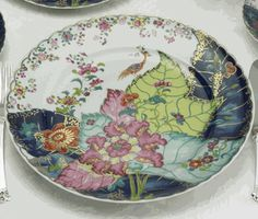 "Blue Dragon Dinner Plate by Mottahedeh, $55, Mottahedeh & Co. ""Mottahedeh does wonderful reproductions."" --Kelley Proxmire"