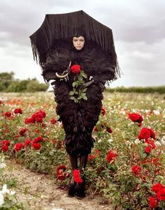 Tim Burton for Harper's Bazaar, October 2009