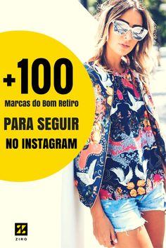 As melhores marcas da moda em atacado do Bom Retiro estão aqui! Clique e fique por dentro das tendências e novidades pelo Instagram de + de 100 marcas!