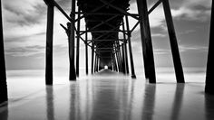 Smooth Waters at Oak Island Pier