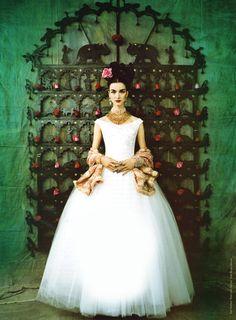 fe390b17f770d4c Ruven Afanador for Reem Acra Свадебные Платья, Свадебные Наряды, Бальные  Длинные Платья, Латинская