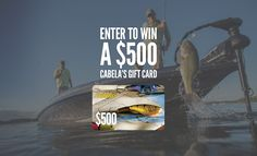 Cabela's Summer Gift Card Giveaway | OutdoorHub