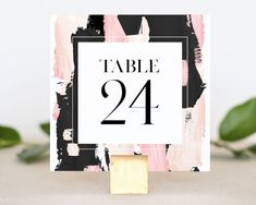 Black Table Numbers Wedding - Modern Table Number for Wedding - Wedding Table Number Cards - Reception Table Number - Table Number Wedding by MargauxPaperie on Etsy Invitation Set, Printable Invitations, Reception Table, Wedding Reception, Wrap Wedding Band, Wedding Day Nails, Winter Centerpieces, Wedding Table Numbers, Elegant Wedding Invitations