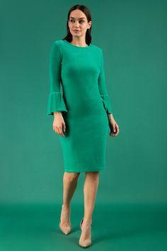 Melika Velvet Dress - XL / Velvet Golf Green