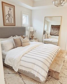 Home Interior Classic .Home Interior Classic Room Ideas Bedroom, Home Decor Bedroom, Diy Bedroom, Master Bedroom, Design Bedroom, Beige Walls Bedroom, Target Bedroom, 1920s Bedroom, Neutral Bedrooms