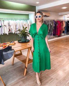 Look Fashion, Girl Fashion, Womens Fashion, Casual Dresses, Fashion Dresses, Summer Dresses, Dress Skirt, Dress Up, Western Dresses