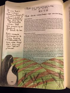 ruth bible journaling