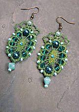Náušnice - stojedenáste - 4513958_ Drop Earrings, Jewelry, Fashion, Moda, Jewlery, Bijoux, La Mode, Jewerly, Fasion