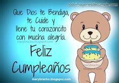 Spanish Birthday Wishes, Birthday Wishes For Kids, Happy Birthday Celebration, Birthday Quotes For Him, Happy Birthday Fun, Happy Birthday Messages, Happy Birthday Images, Birthday Pictures, Birthday Ideas