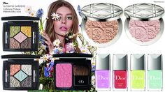 The Beauty Cove: PRIMAVERA ESTATE 2016 • DIOR MAKEUP • GLOWING GARDENS