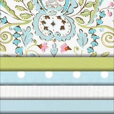 Bebe Jardin Fabric #carouseldesigns just ordered fabric for Caroline's nursery!