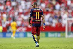 MundoFutbol: Neymar padece una lesión en el aductor