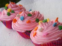 Cupcake bath bombs!! So cute! - Continued!